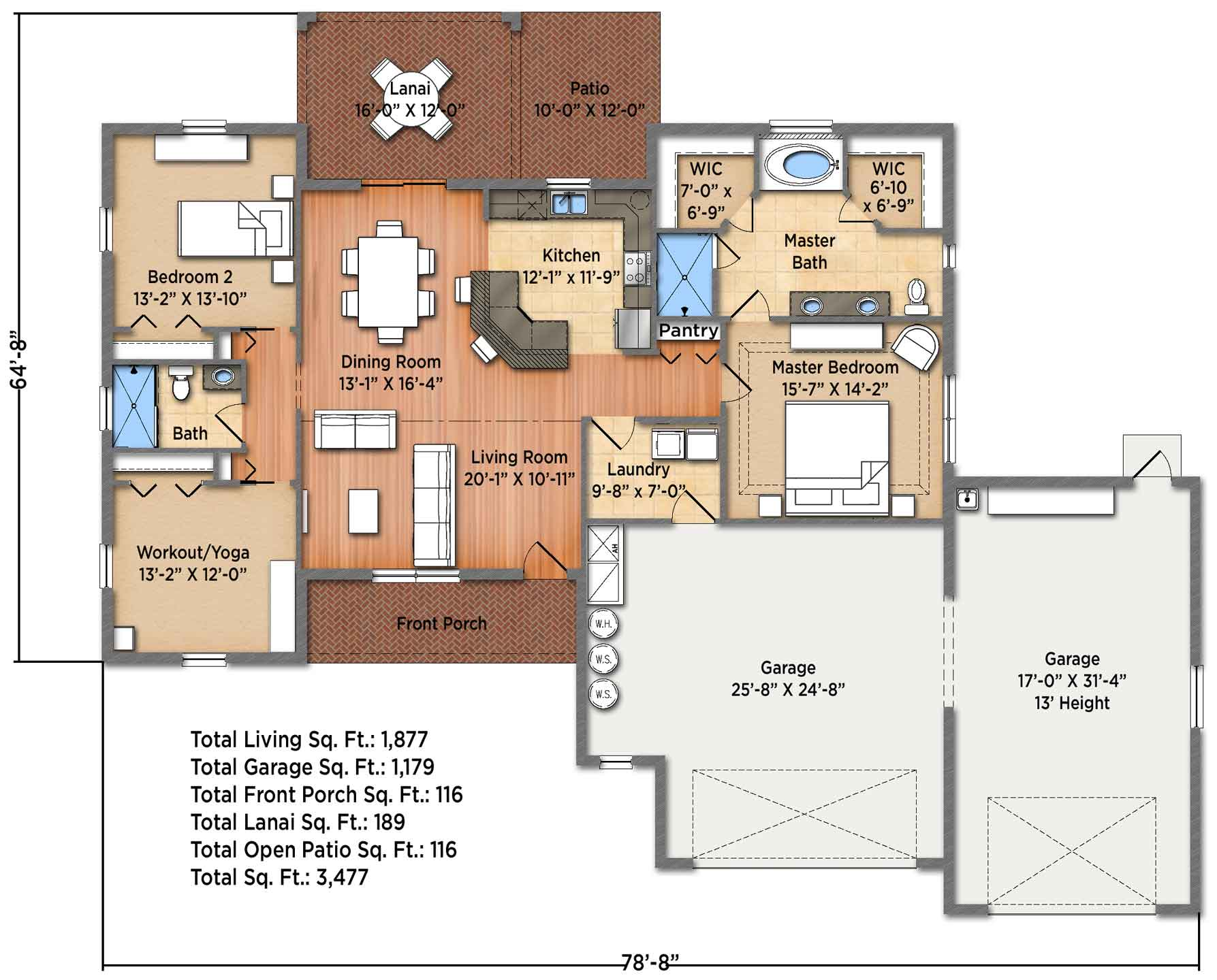 Horizon II Floorplan