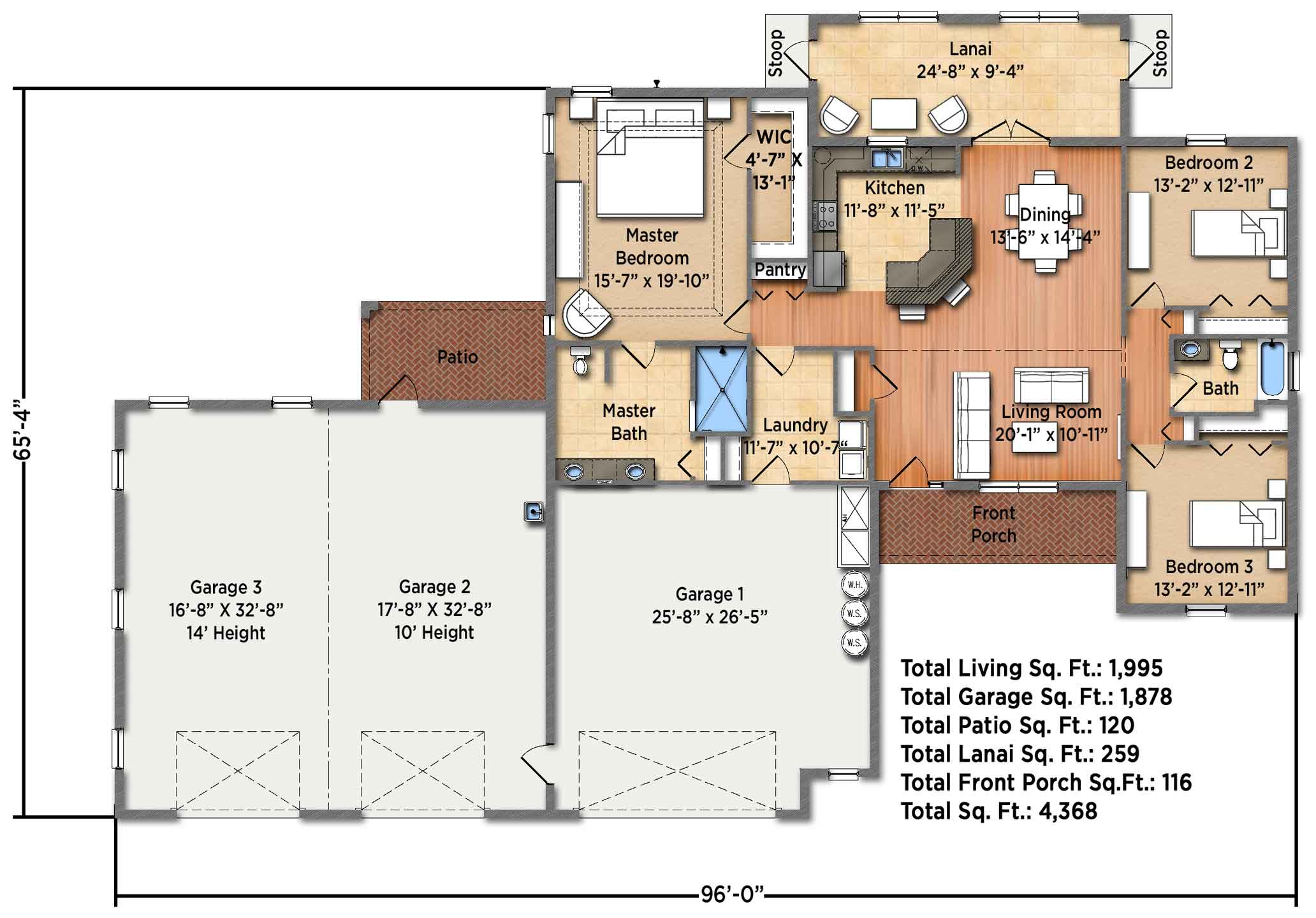 Horizon IV Floorplan