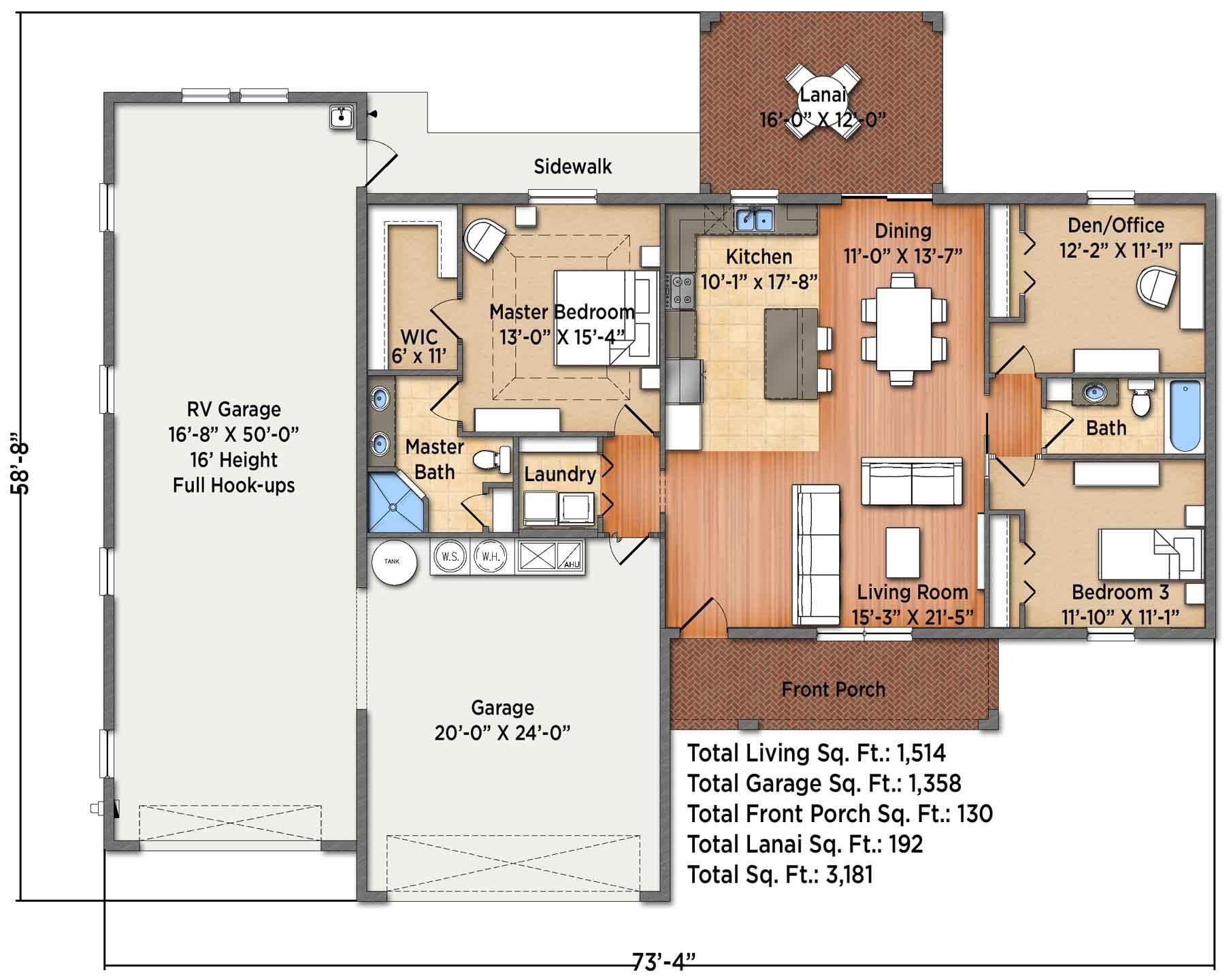 Iris I Floorplan