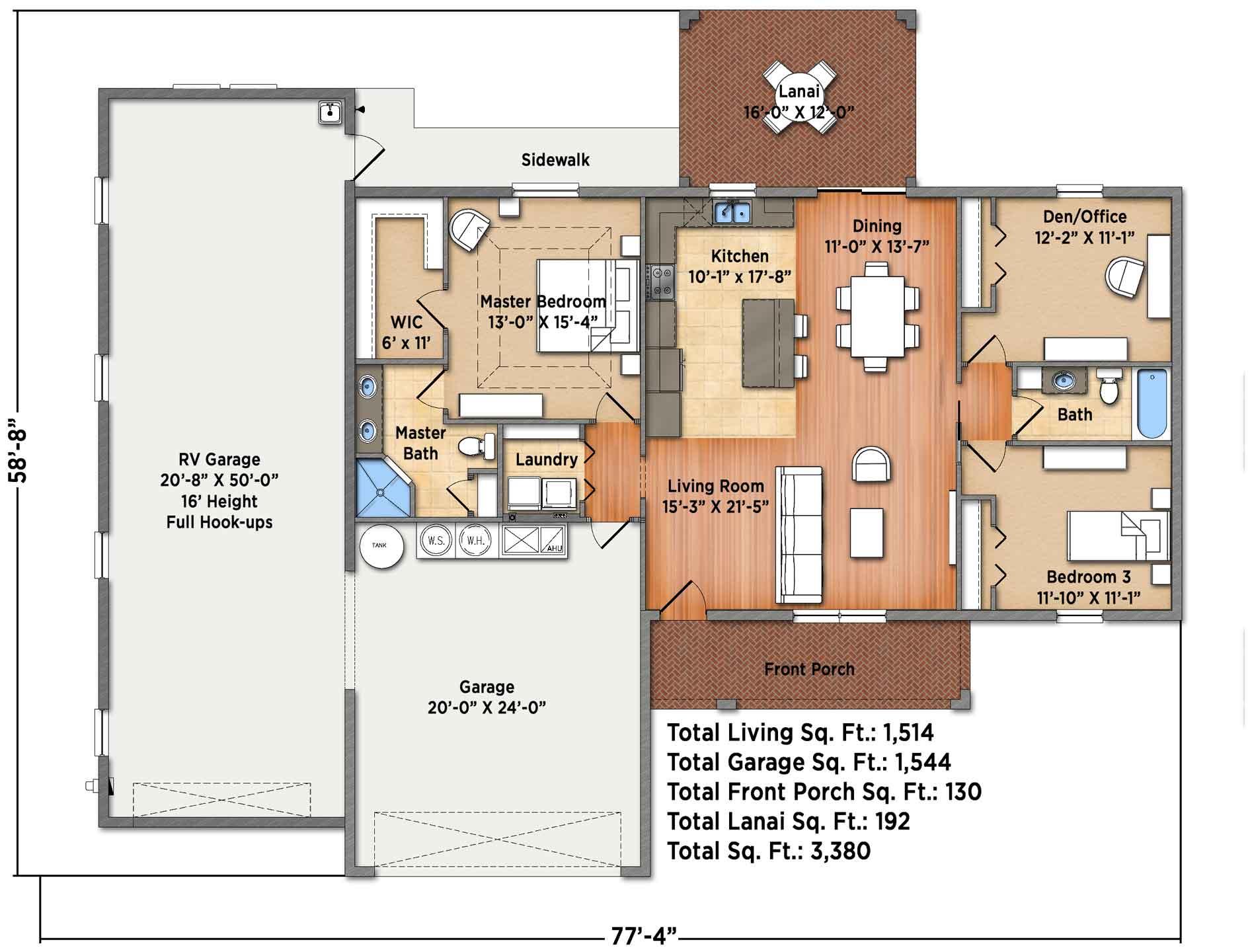 Iris II Floorplan