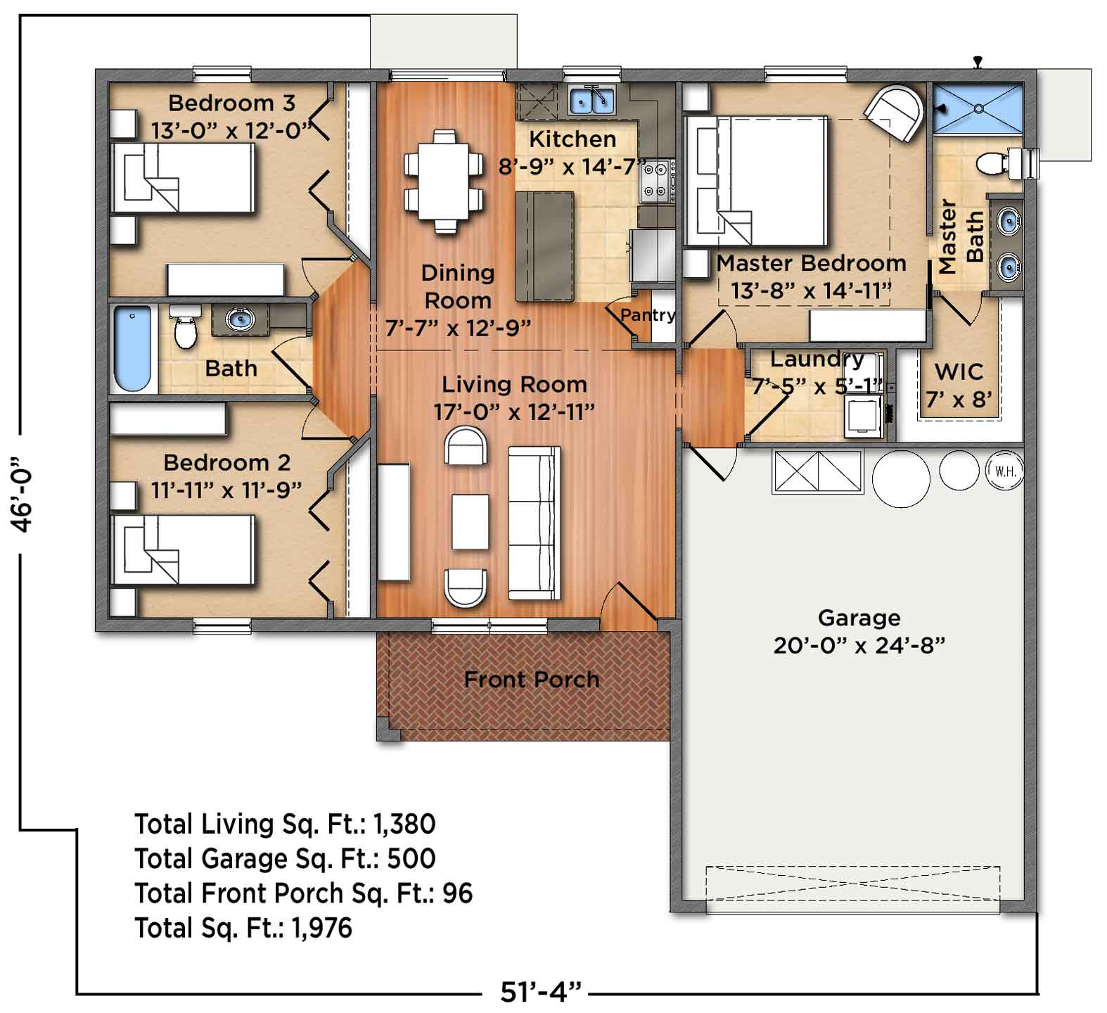 Weston Floorplan