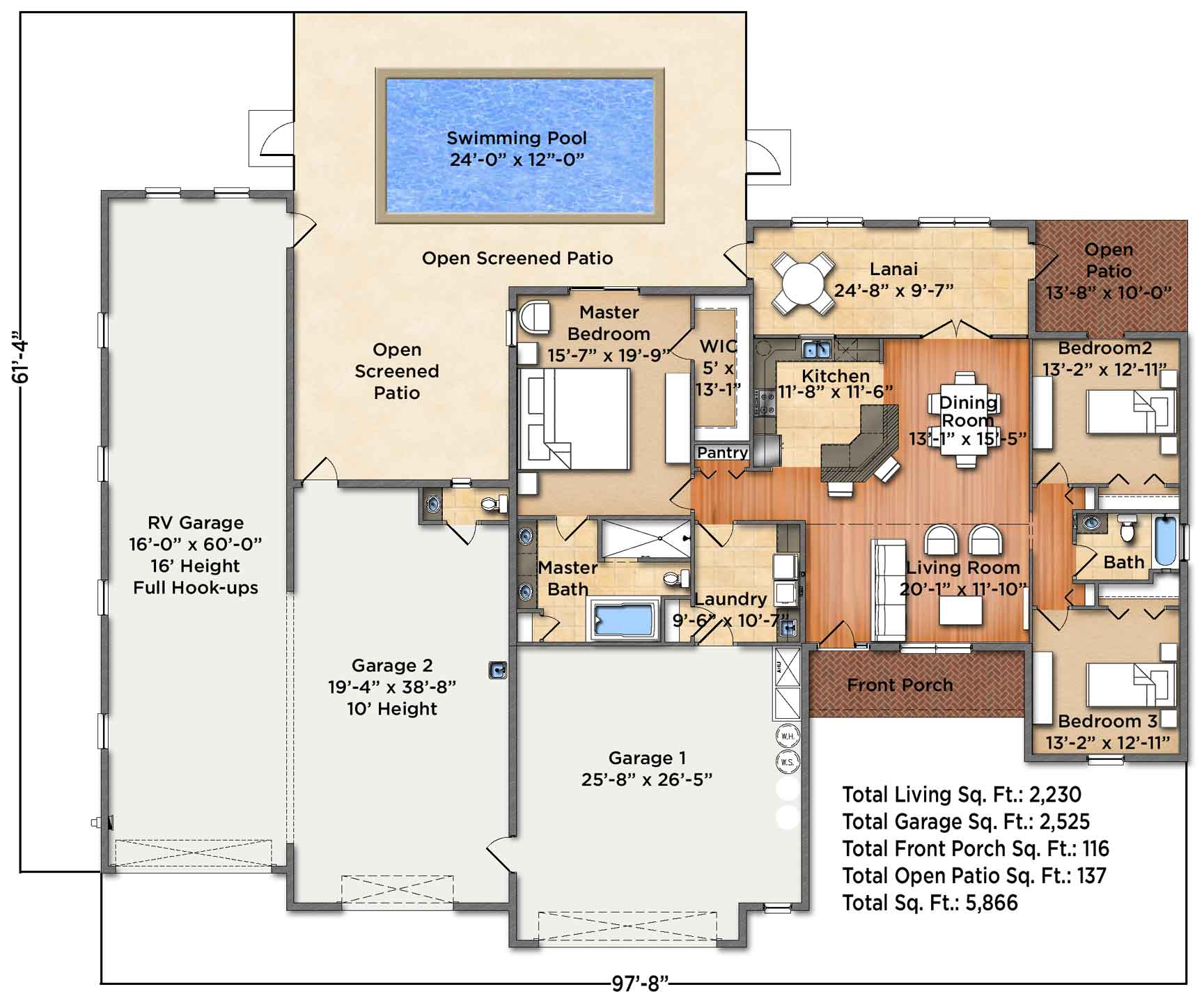 Horizon III Floorplan