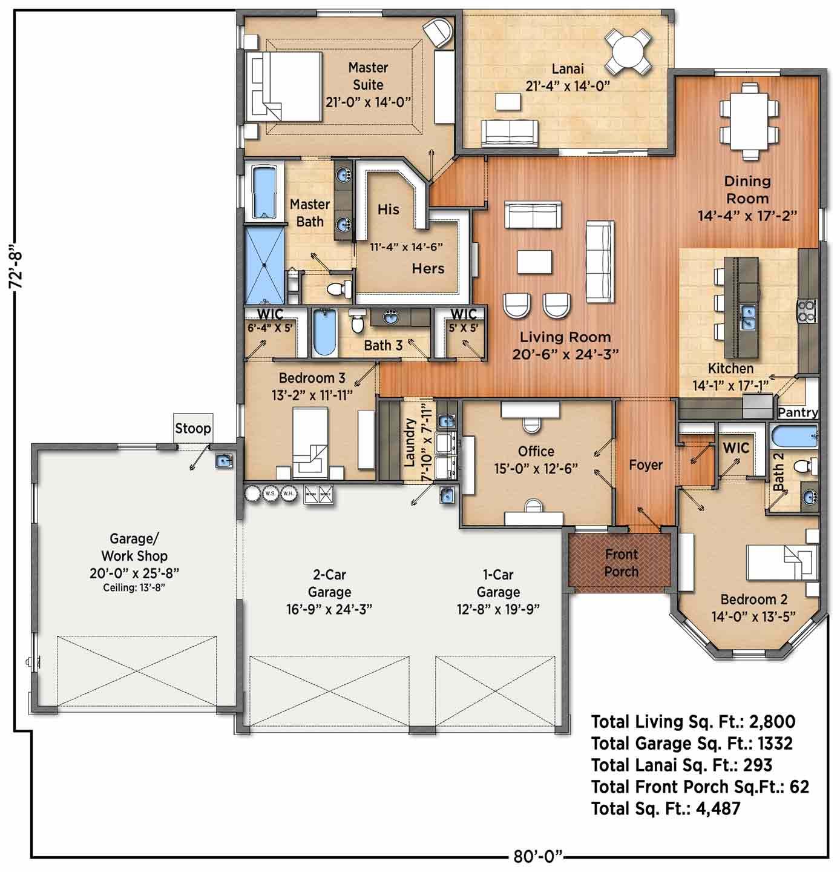 Merriweather I Floorplan