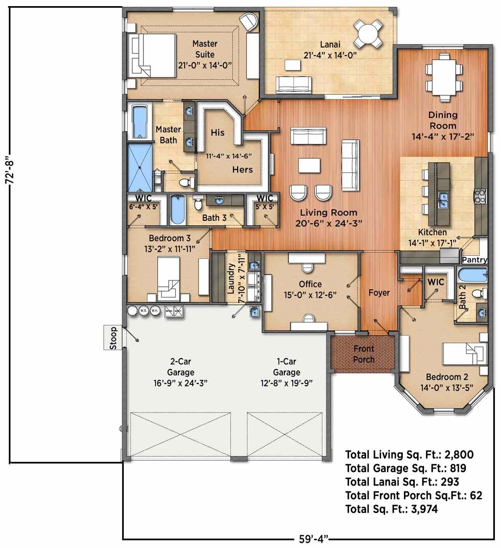 Merriweather A Floorplan
