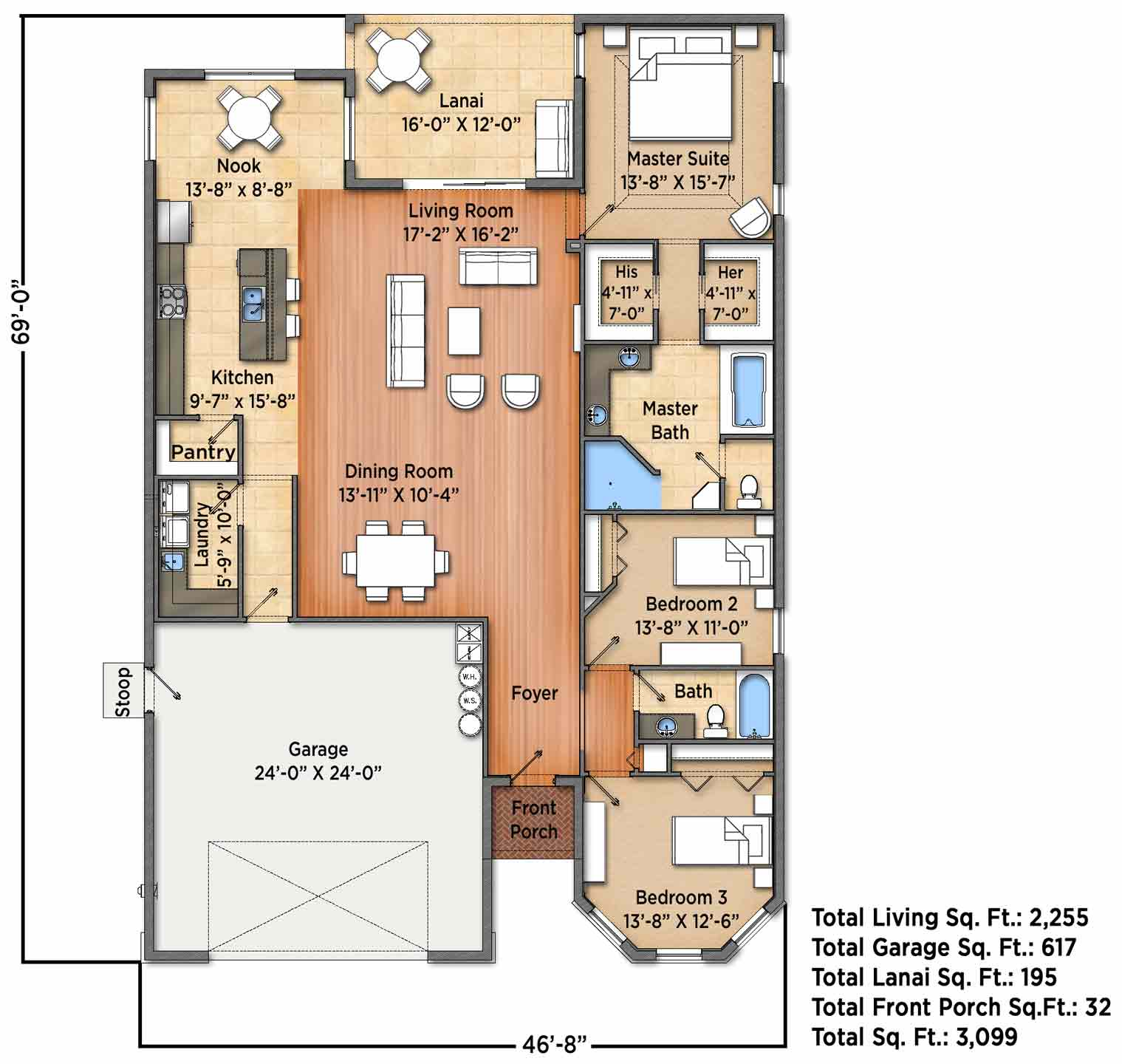 South Haven A Floorplan