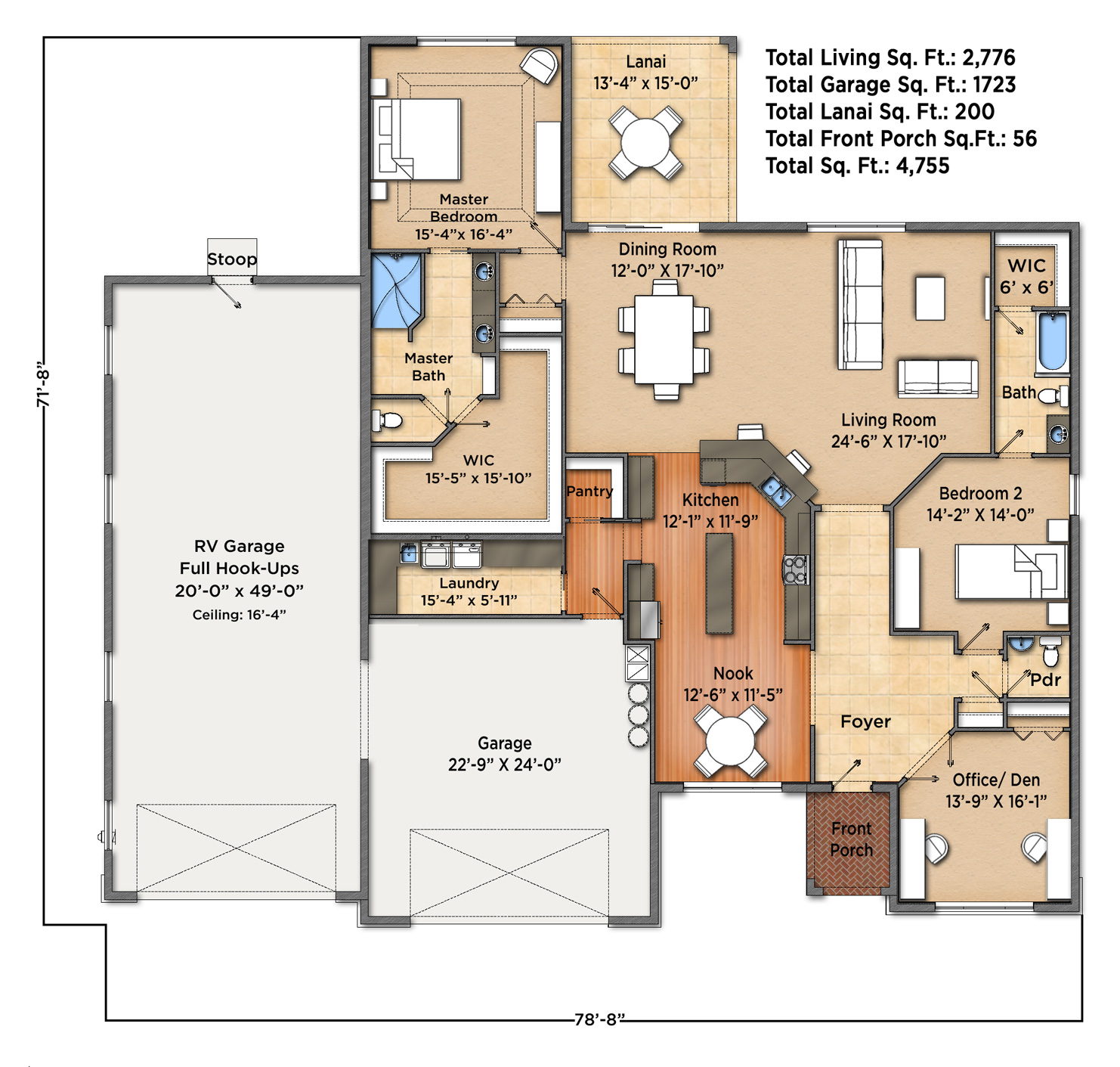 Sunset Harbor II Floorplan