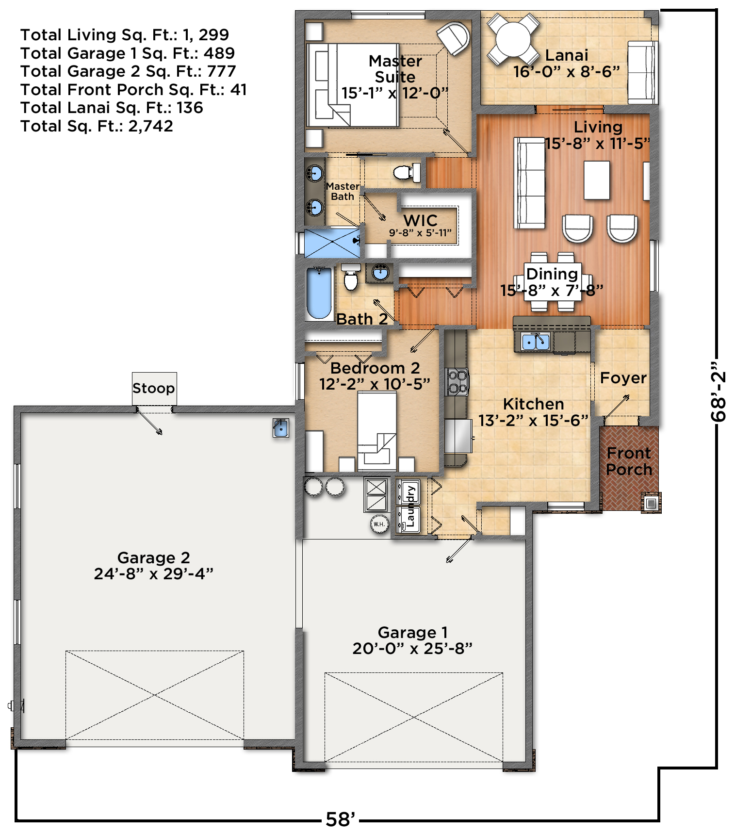 Luray I Floorplan