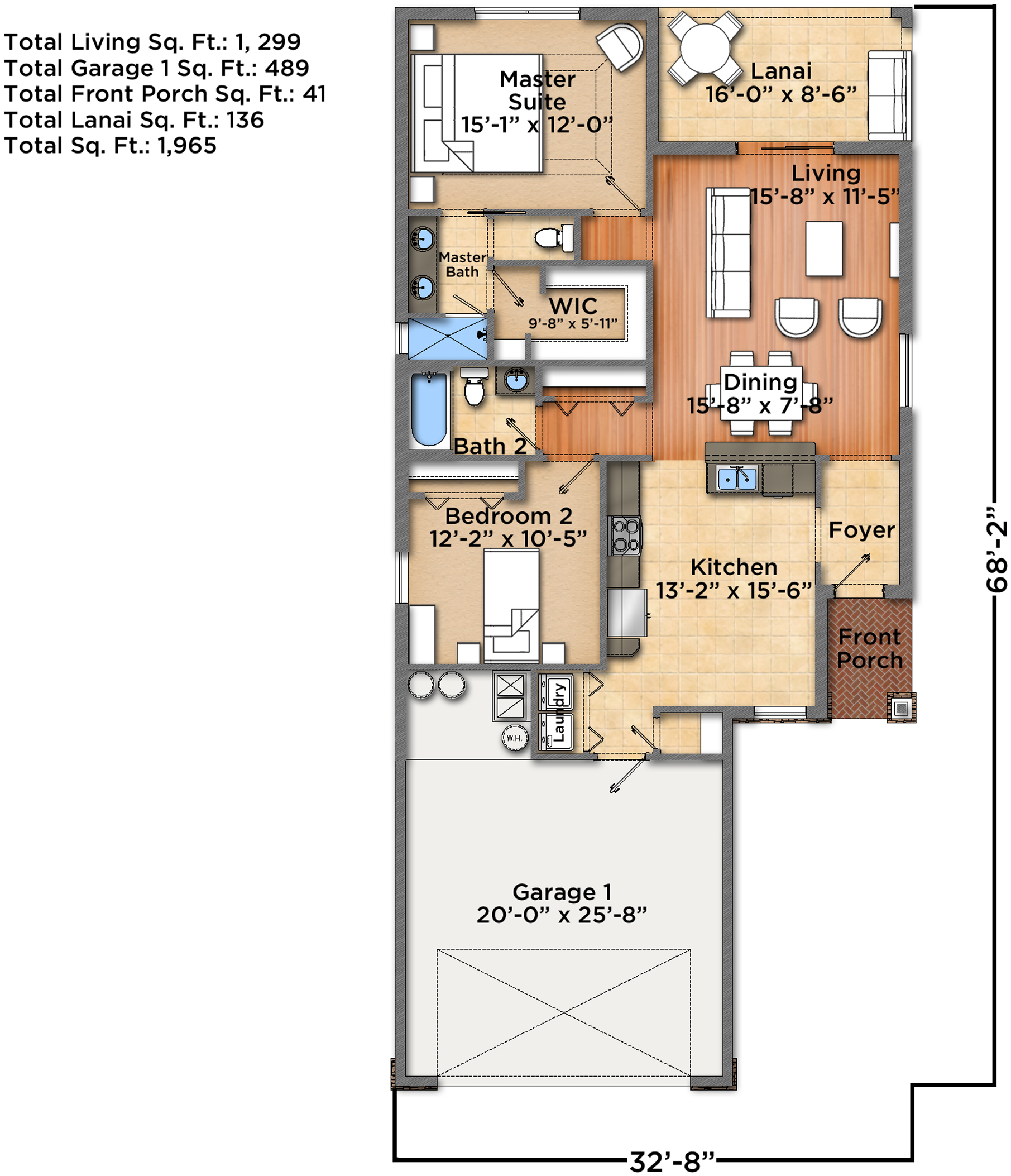 Luray Floorplan