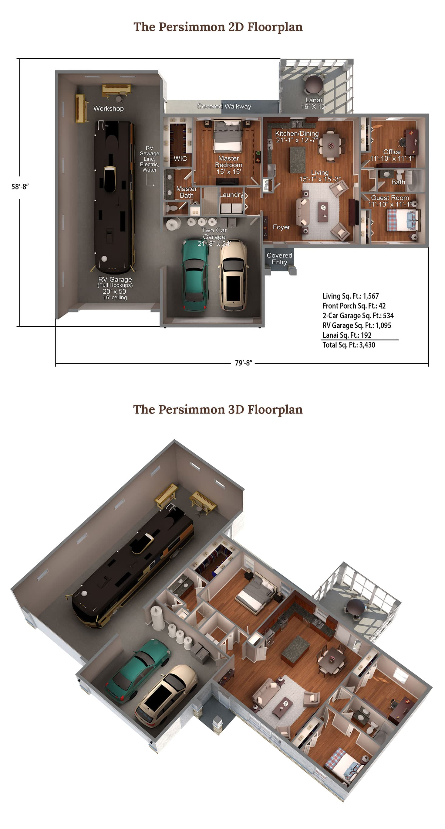 The Persimmon Floorplan