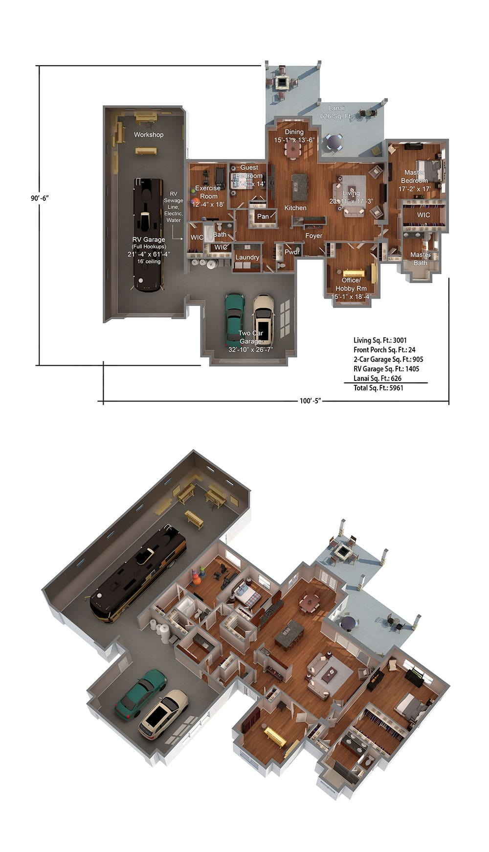 Biscayne Floorplan