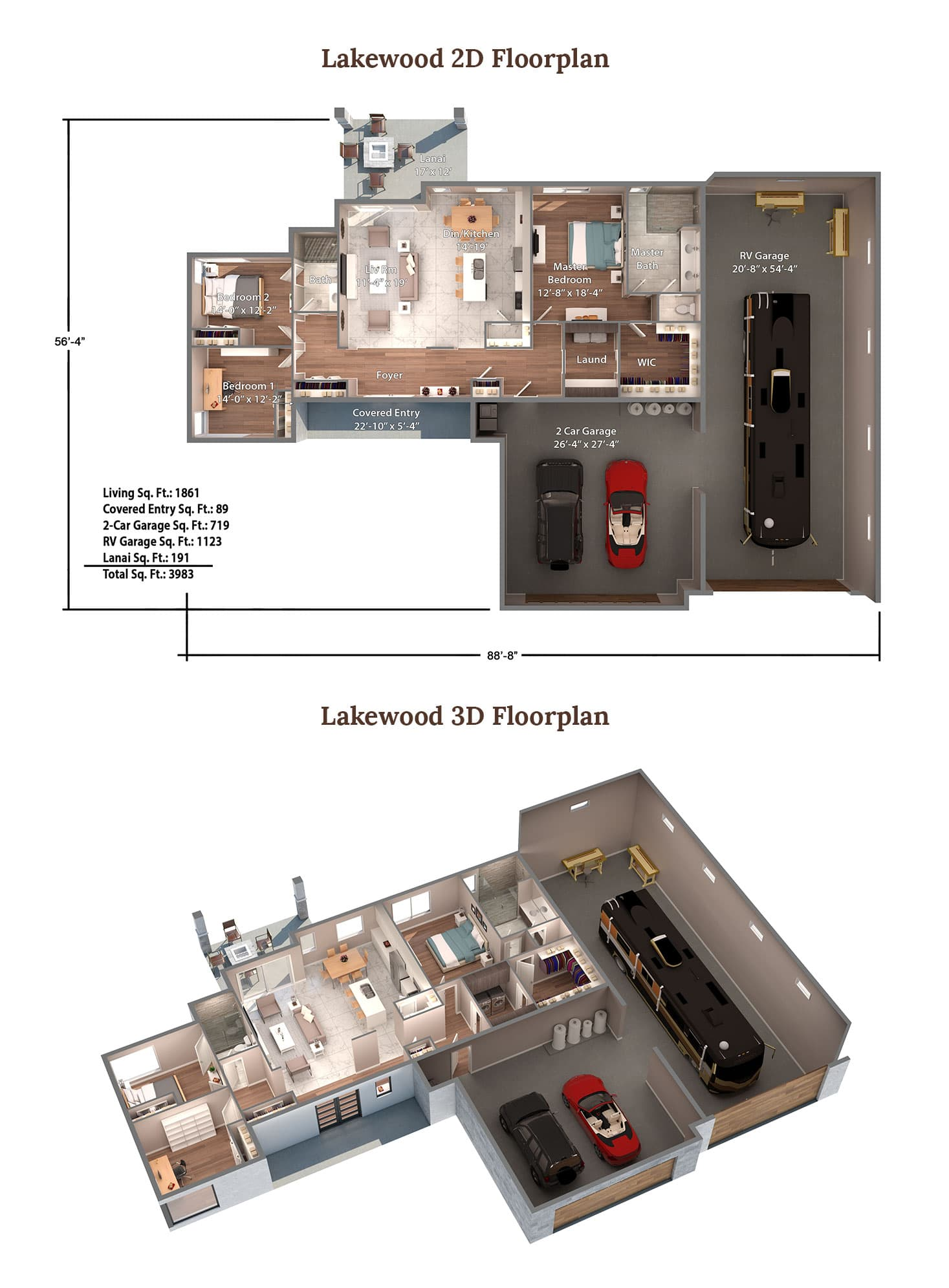 Lakewood Floorplan